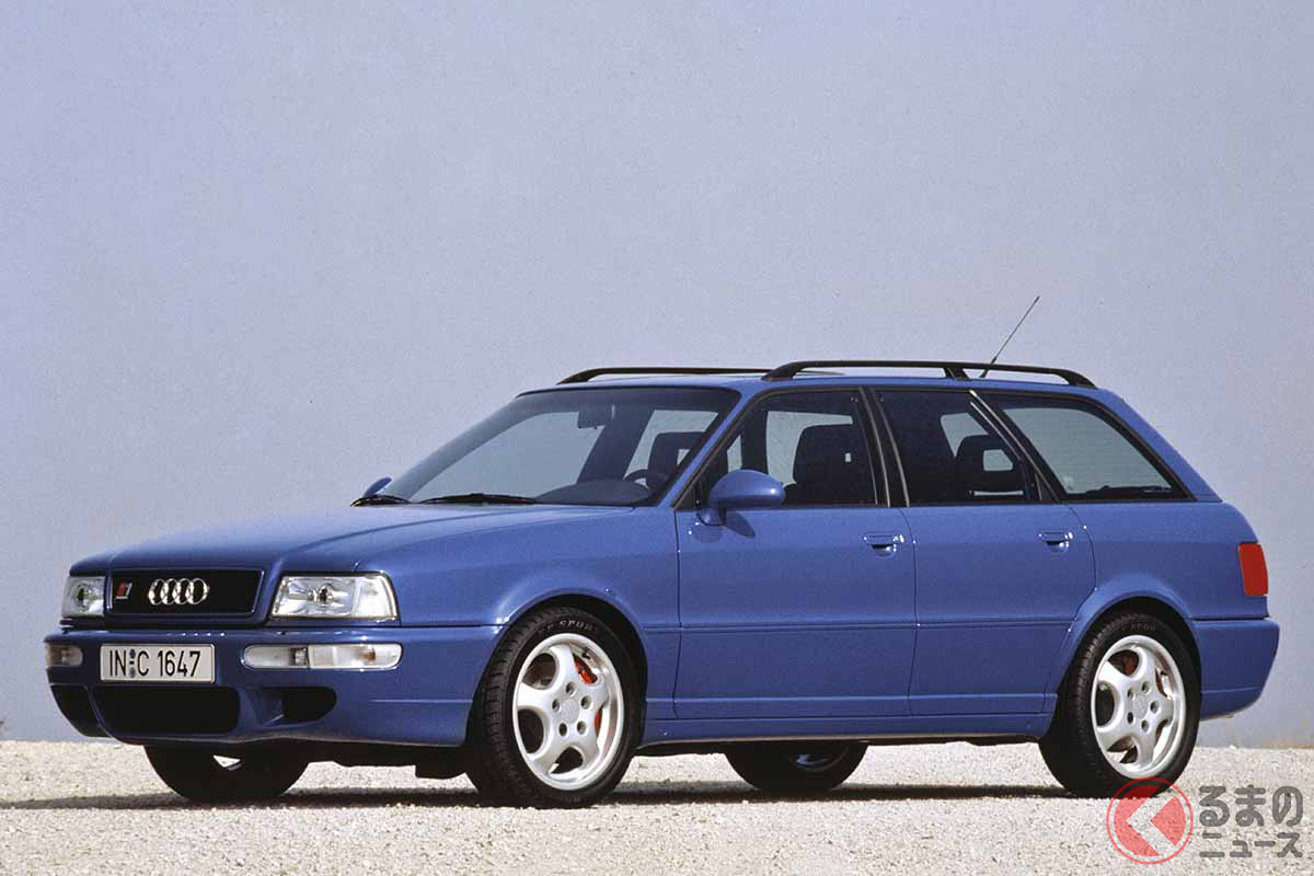 1994年に登場したアウディ「RS2アバント」