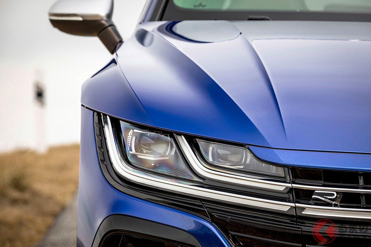 VW新型「アルテオンR」のLEDヘッドライト