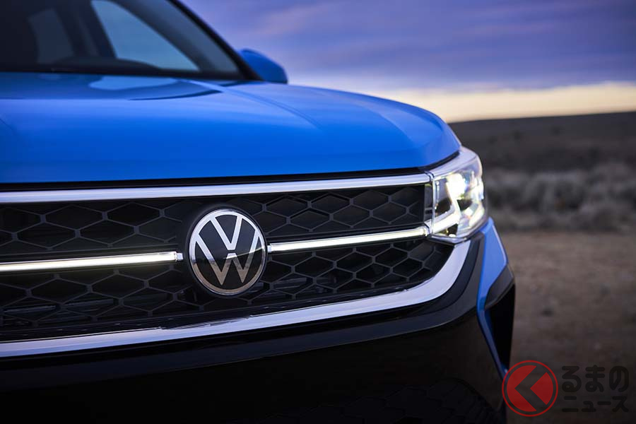VW新型「タオス」のフロントデザイン
