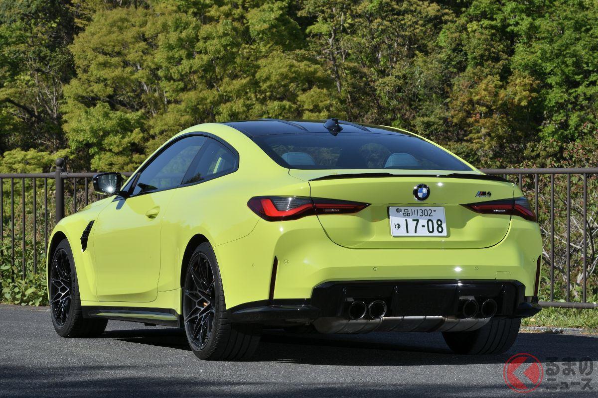 BMW「M4クーペ コンペティション」