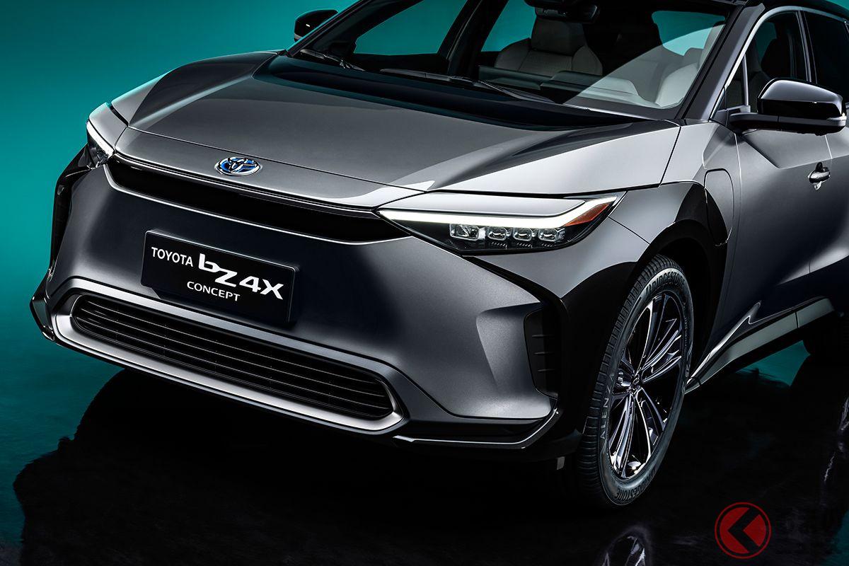 2021年4月に開幕した上海モーターショー2021はさながらEV祭りといえるほど各メーカーがEVを出店した。トヨタのEV「TOYOTA bZ4Xコンセプト」もその1台だ