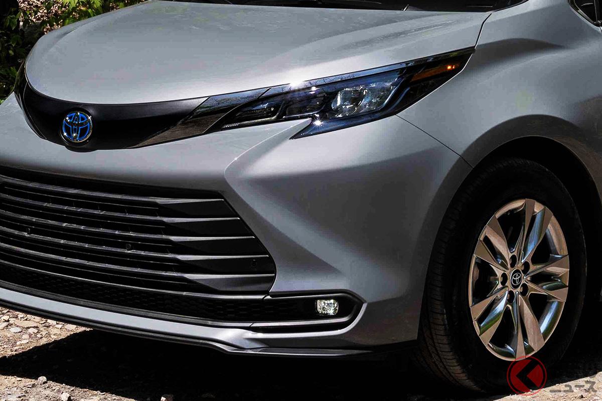 北米で販売されるトヨタ「シエナ」の特別仕様車「ウッドランド・スペシャル・エディション」