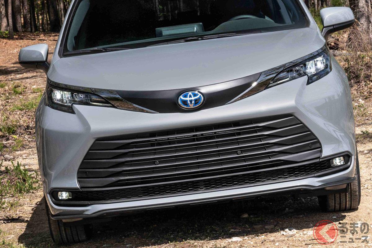2021年秋に北米で発売されるトヨタ新型「シエナ ウッドランド・スペシャル・エディション」