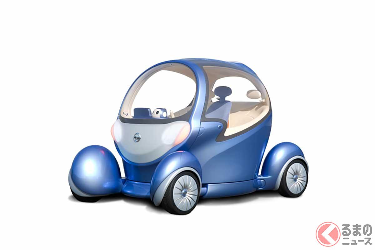 東京アールアンドデーが設計・製作した日産のコンセプトカー「PIVO2」。