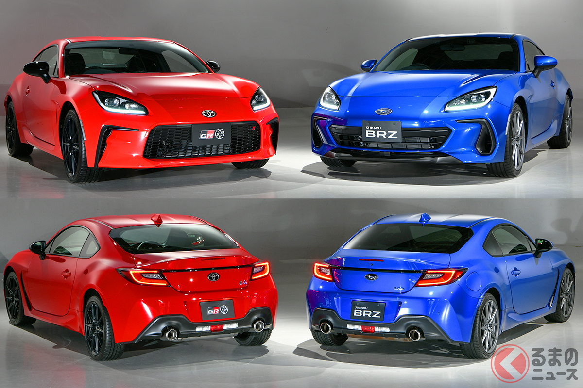 新型GR86/新型BRZが日本で初公開! ユーザーの反響は意外にも…「購入しない」人多い?