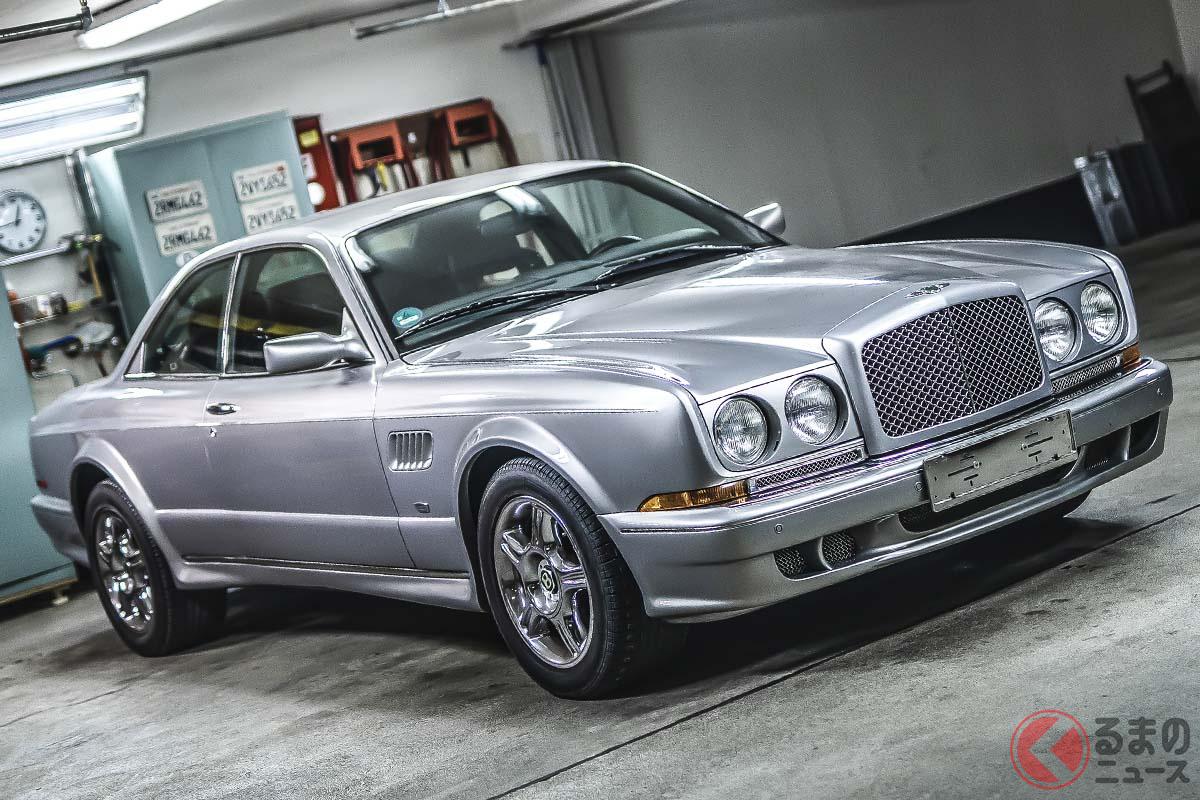 2001年および2002年に46台のみが生産されたといわれるベントレー「コンチネンタルRル・マン・シリーズ」