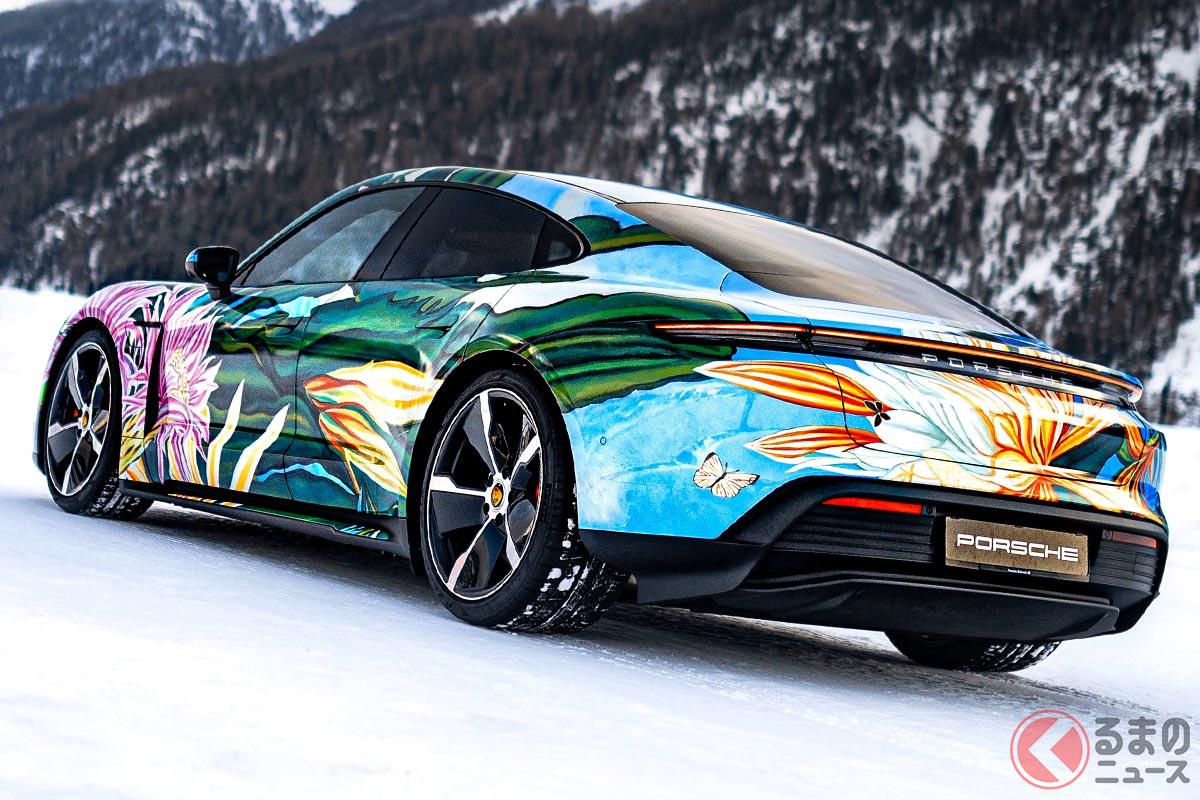 リチャード・フィリップスにとっては2台目となるポルシェのアートカー(C)2021 Courtesy of RM Sotheby's