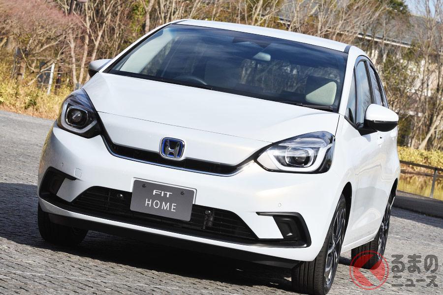 新型モデルとなる4代目フィットもそれなりに中古車市場で出回っている。