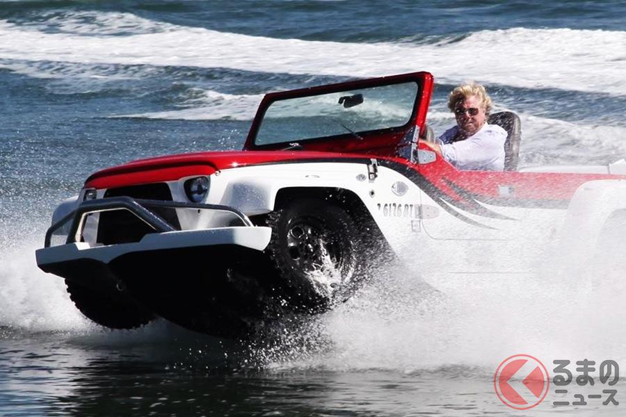 Water Car社の水陸両用車「パンサー」(Photo:WaterCar)