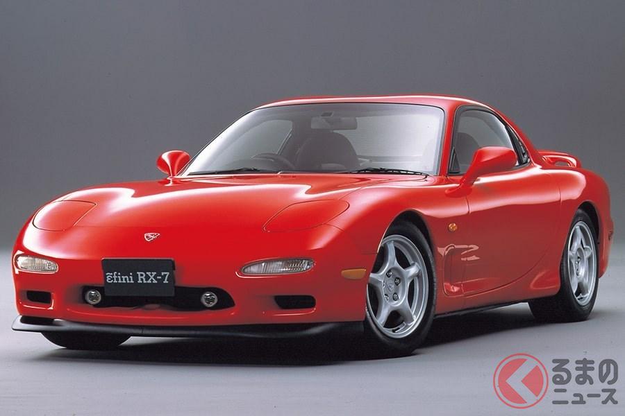 ピュアスポーツカーとして国内外で人気を博した最後の「RX-7」