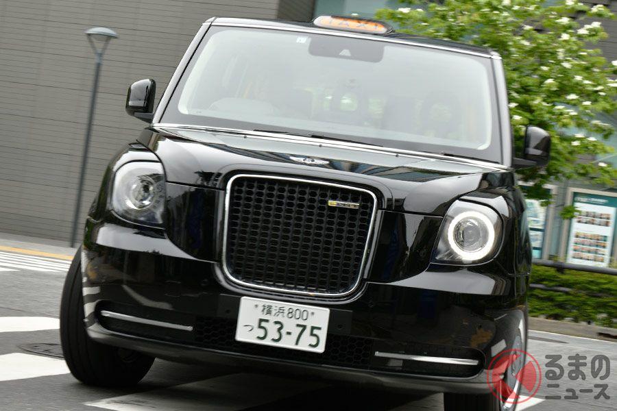 街中でも存在感がスゴいロンドンタクシーの最新モデル「TX」