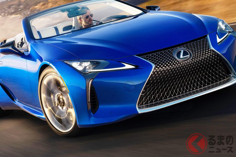 2020年夏発売予定のレクサス新型「LC500コンバーチブルモデル」