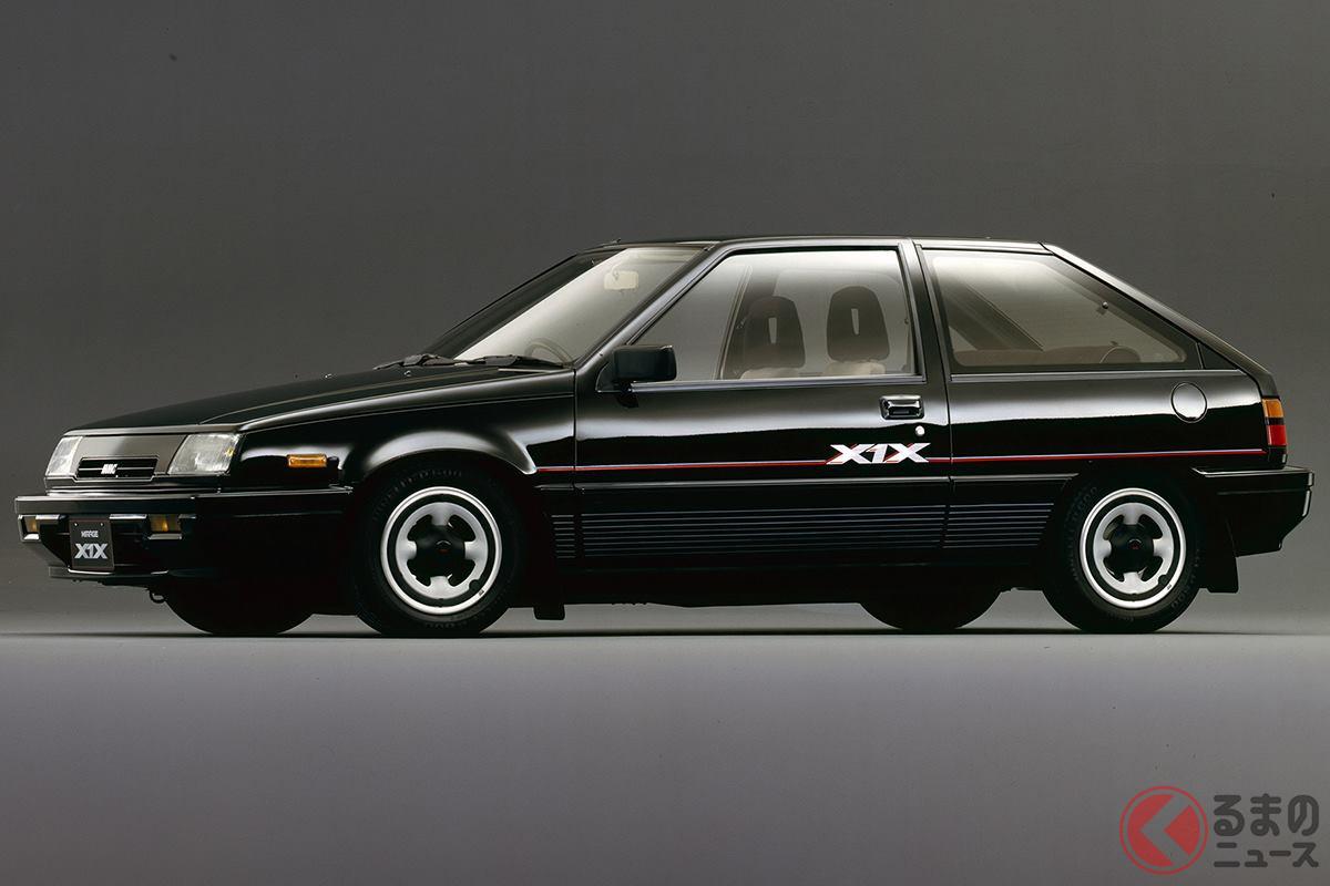 シックな印象のデザインが好感触の「ミラージュ GSRターボ X1X」