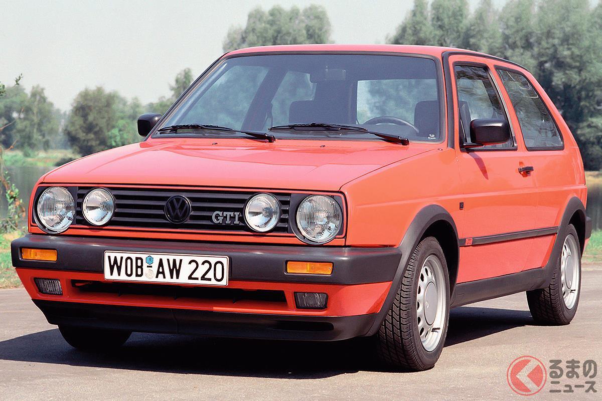 当時はあらゆる面で国産車を凌駕していた「ゴルフ GTI 16V」