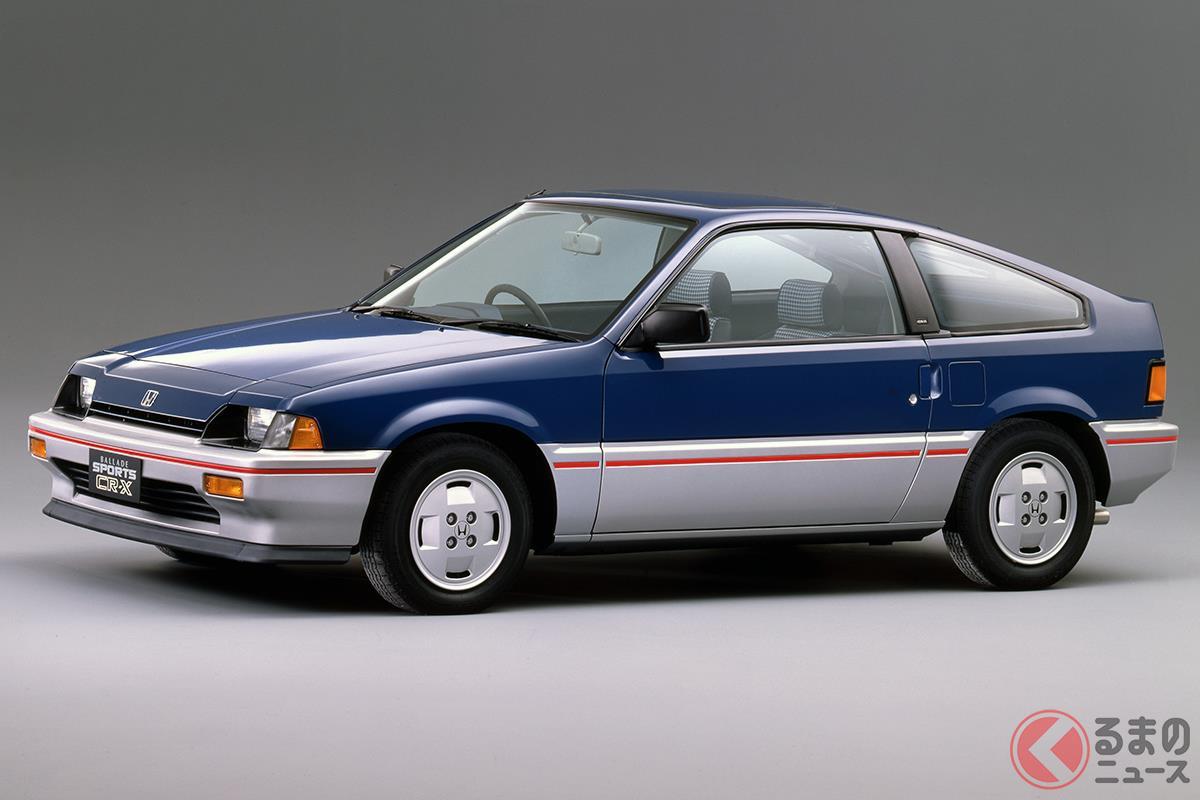 FFライトウエイトスポーツカーの代表的な存在だった「バラードスポーツCR-X」