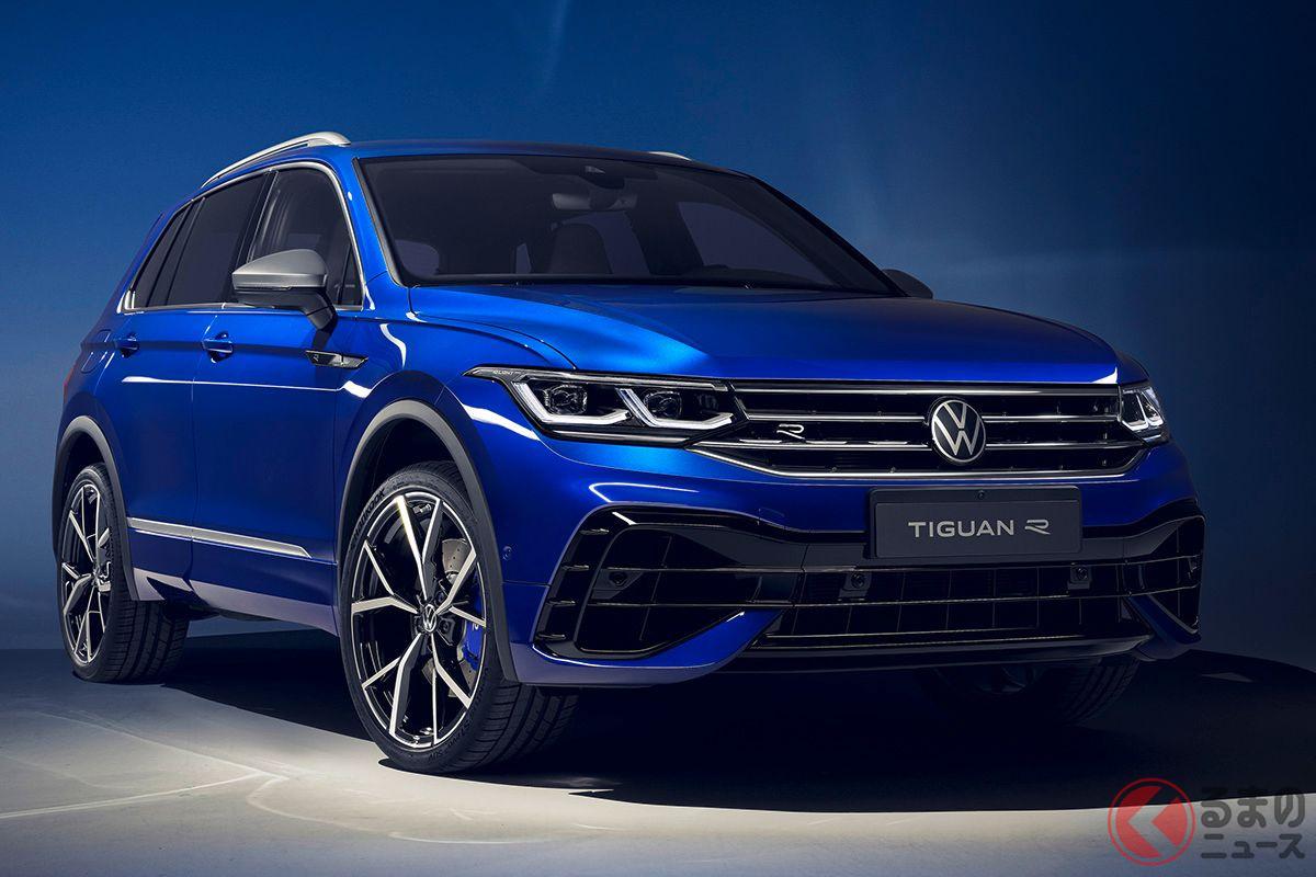パフォーマンスモデル VW「ティグアンR」