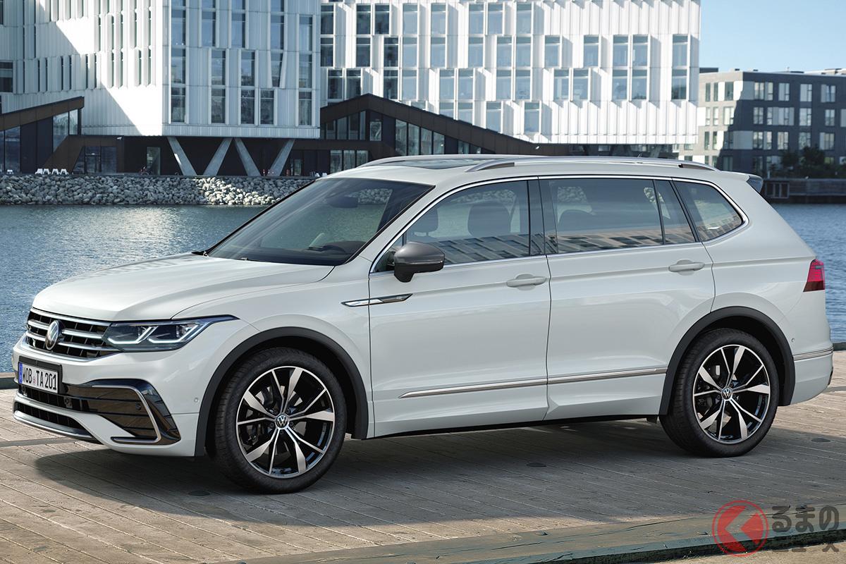 VW新型「ティグアン・オールスペース」。全長は4723mm
