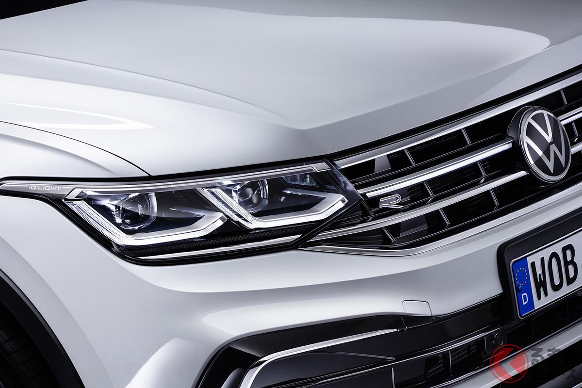 VW新型「ティグアン・オールスペース」