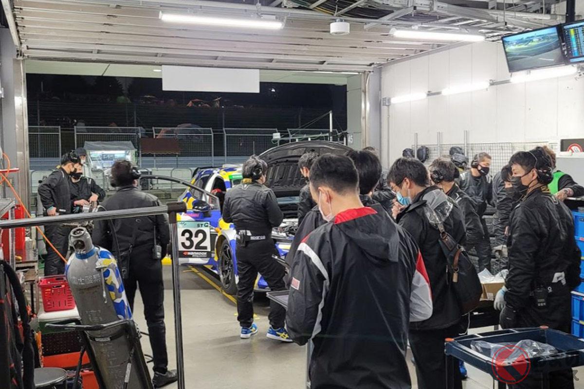 24時間レースという過酷な現場を水素エンジンの第一歩に選んだが、さまざまなトラブルにも見舞われた