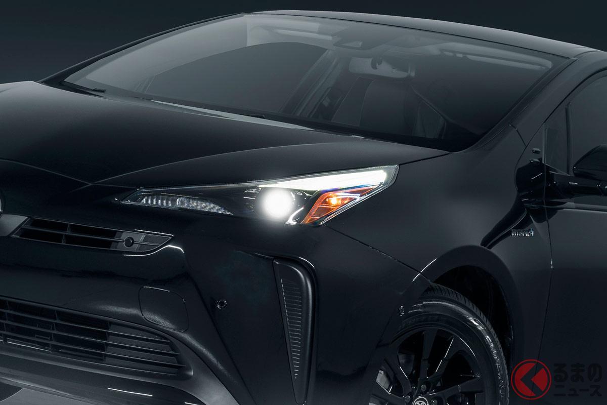 北米トヨタが発表した新型「プリウス(2022年モデル)」の特別仕様車「Nightshade Edition」