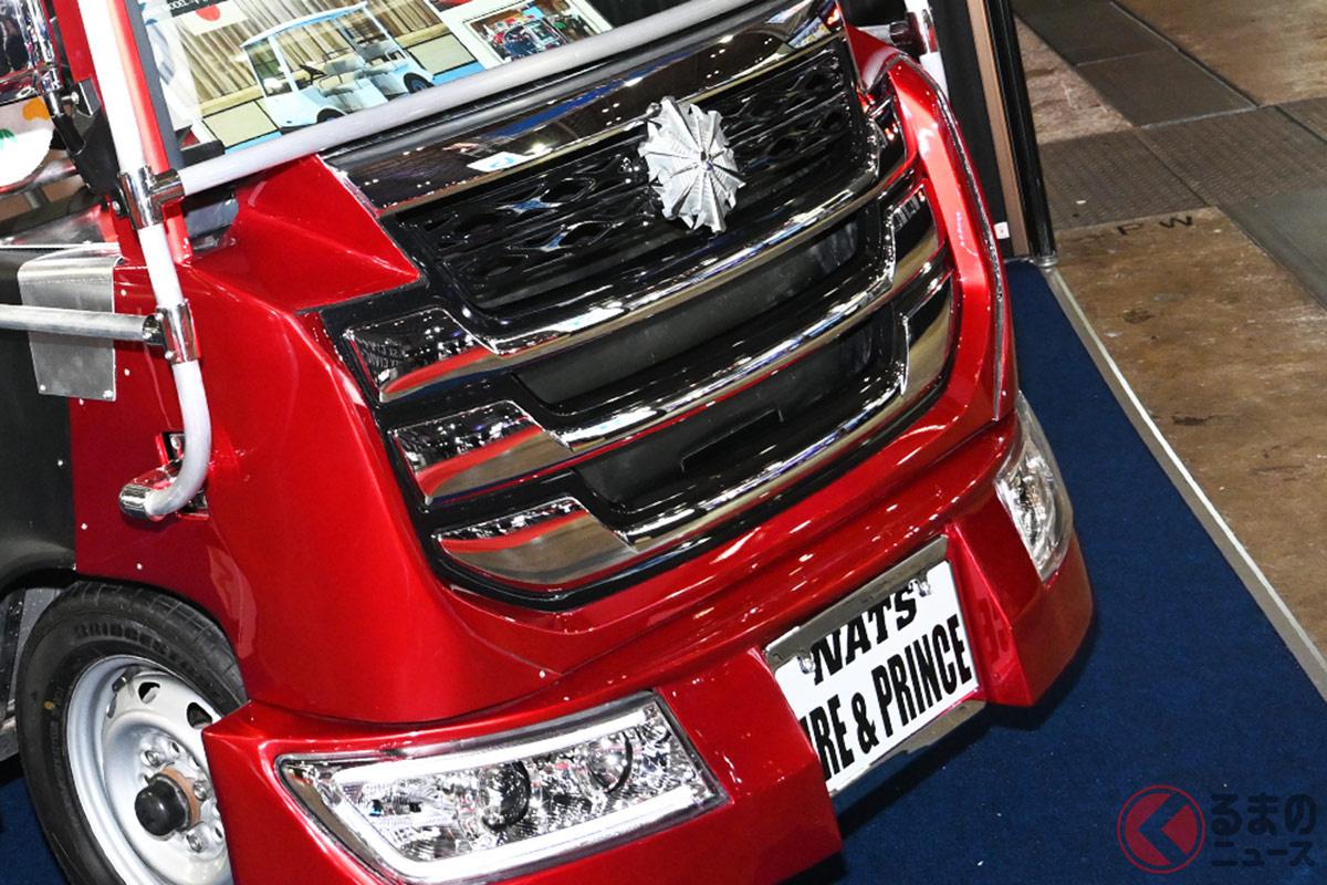 放水可能な6輪消防車となる「ちびっこ消防車」(画像提供:NATS)