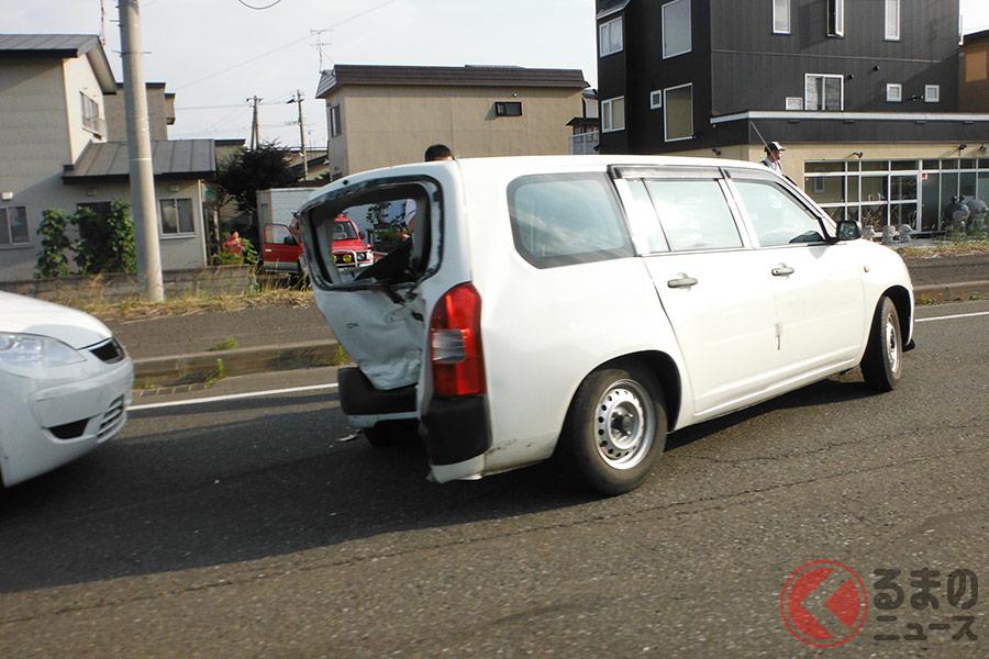 追突事故は後続車の方が過失割合が高くなる傾向にある