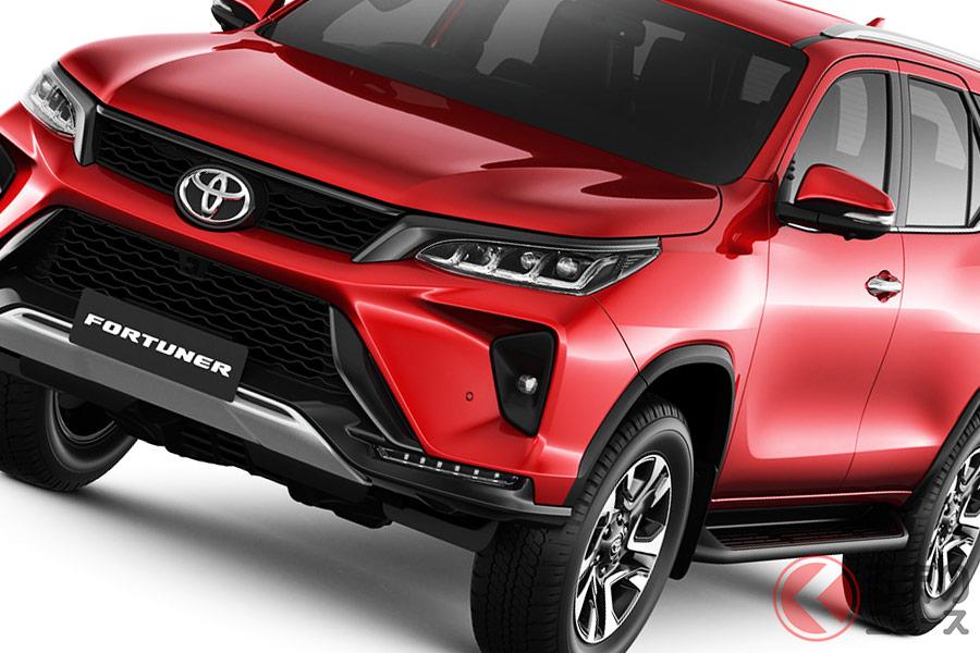 日本未導入のトヨタ「フォーチュナー」 改良モデルは何が進化したのでしょうか