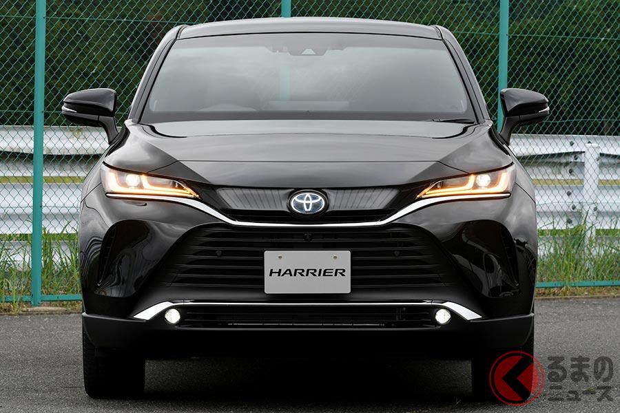さまざまな新開発の機能が搭載されるトヨタ新型「ハリアー」