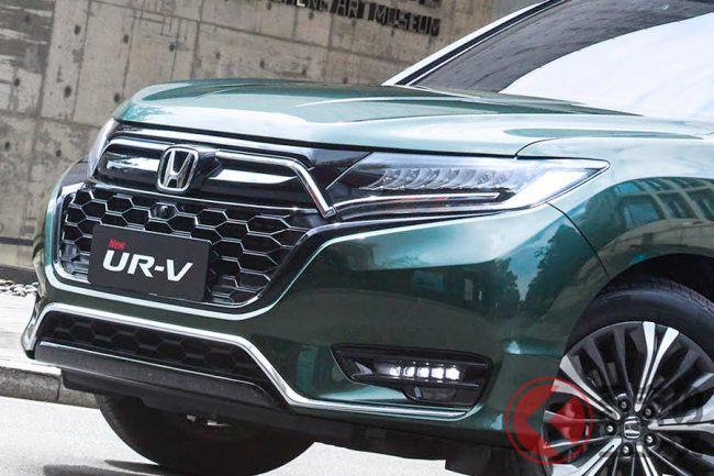 超豪華! ホンダ新型「UR-V」登場!「CR-V」より大きい高級クーペSUVと ...