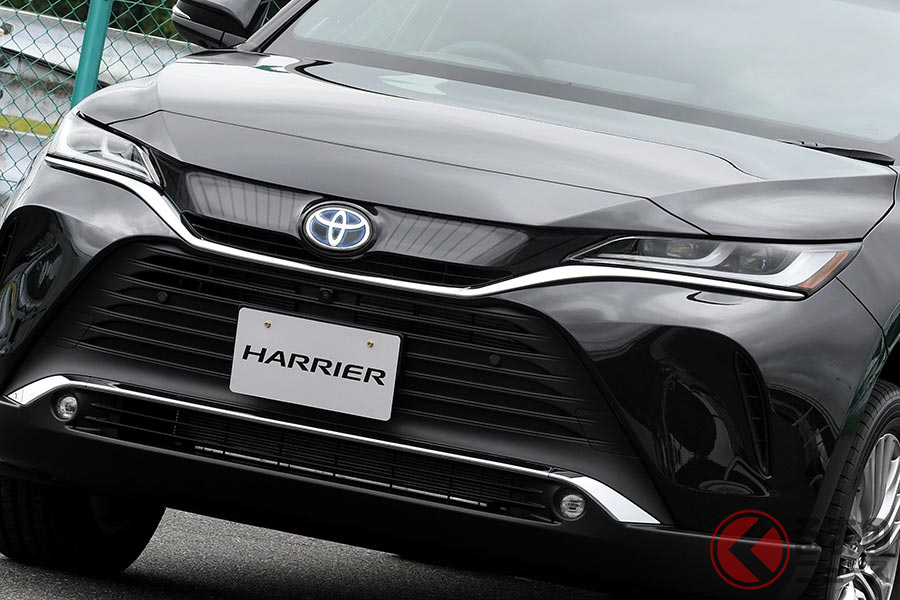 2020年6月に発売されたトヨタ新型「ハリアー」