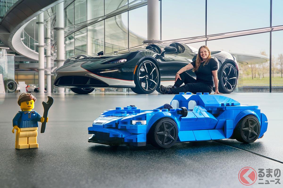 マクラーレンとレゴのコラボレーションにより誕生した「LEGOスピードチャンピオン マクラーレンElva」