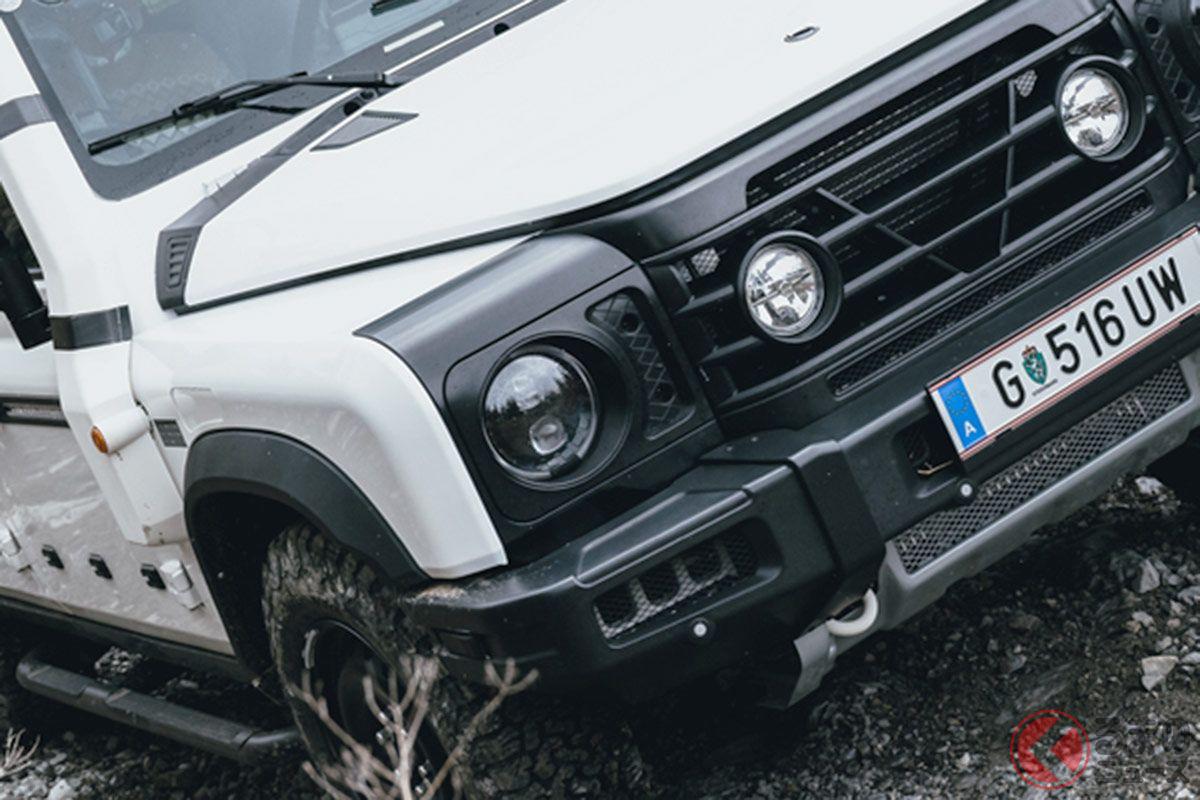 化学メーカーが作った新型最強SUV「グレナディア」