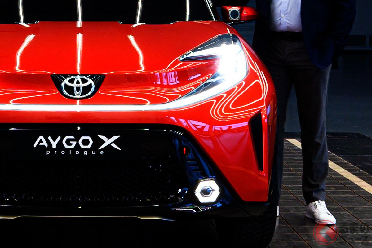トヨタ「アイゴXプロローグ」