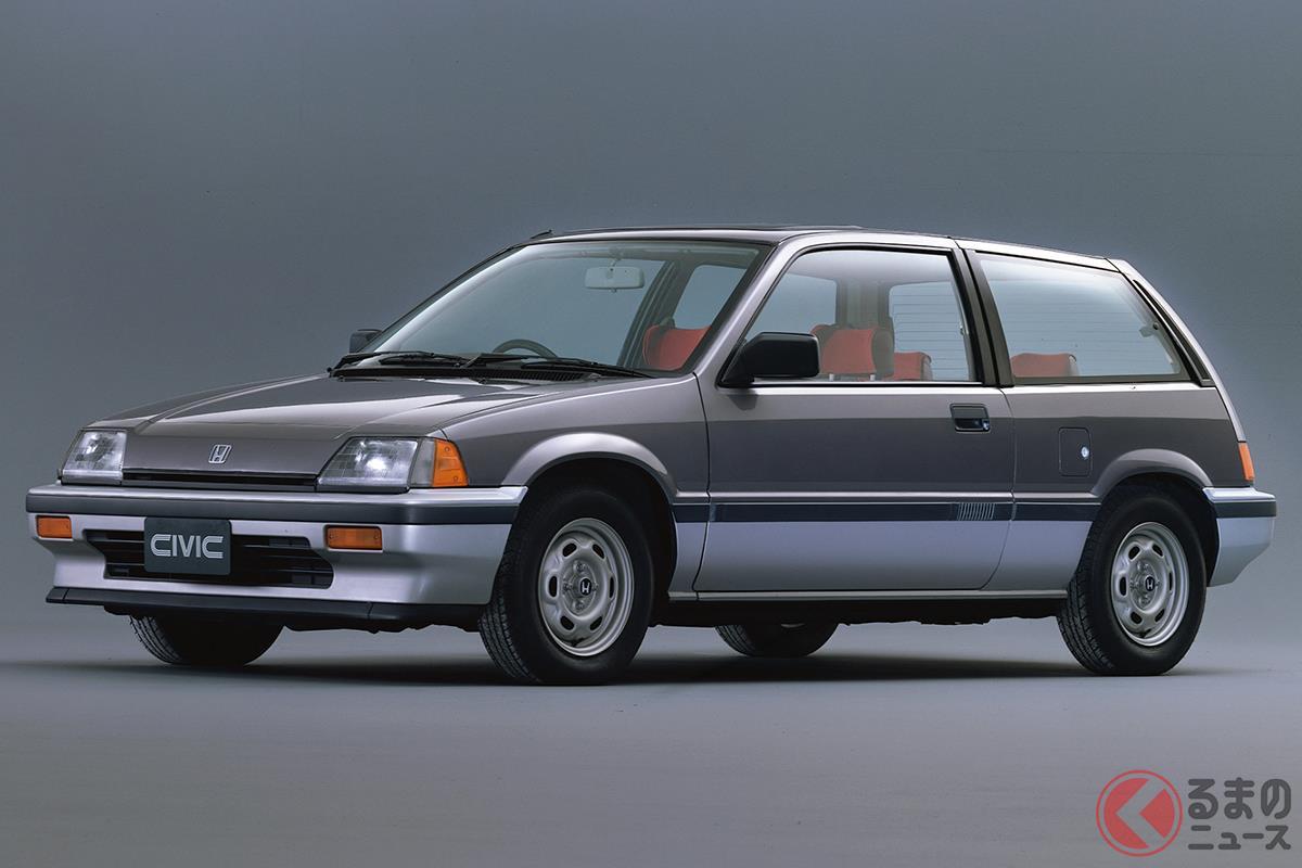 ベーシックな大衆車からFFスポーツへと見事に変貌した3代目「シビック」