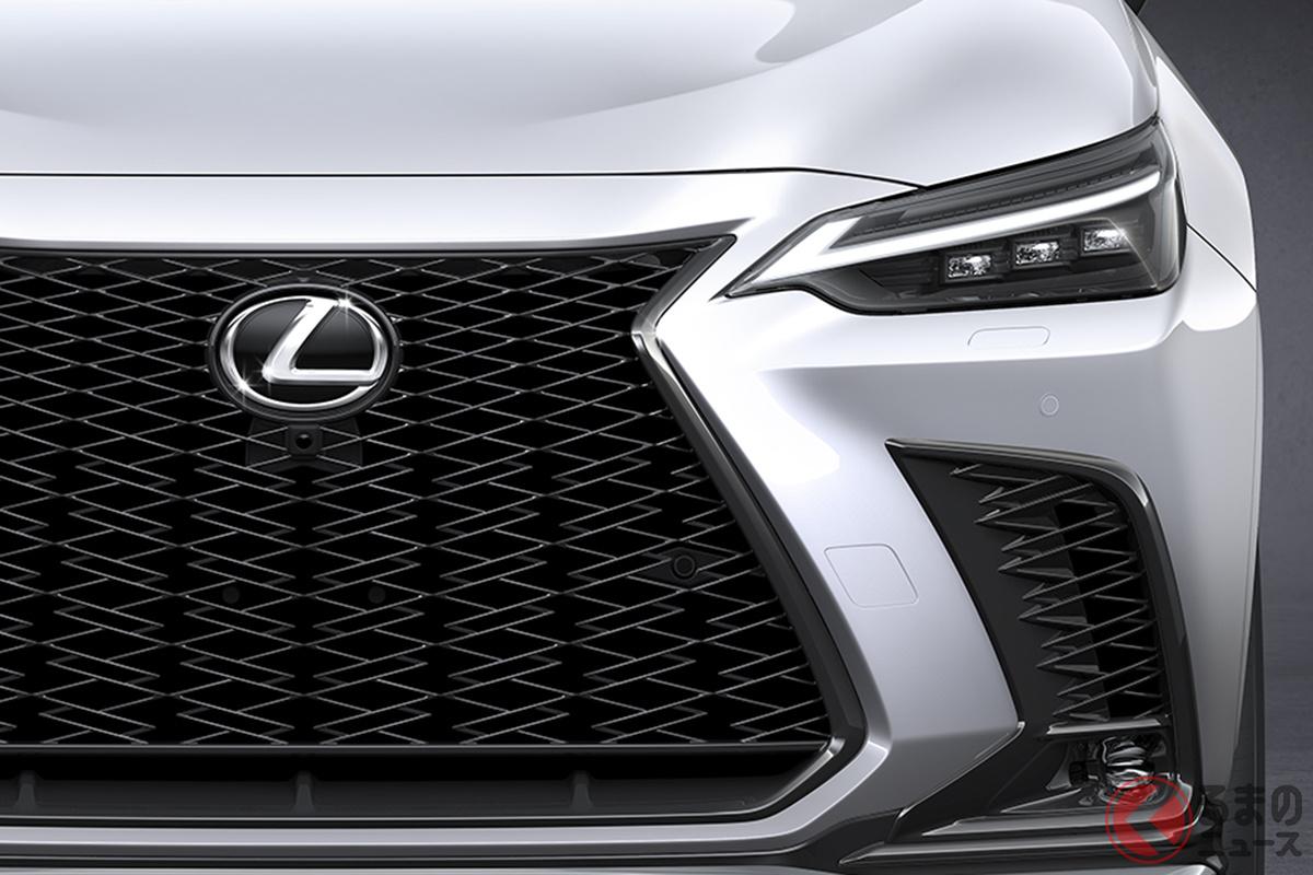 6月12日に世界初公開されたレクサス新型「NX」。日本では2021年秋に登場する予定だ
