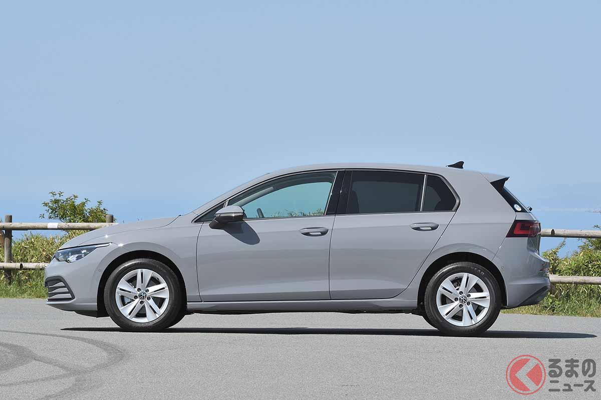 VW新型「ゴルフeTSI アクティブ」