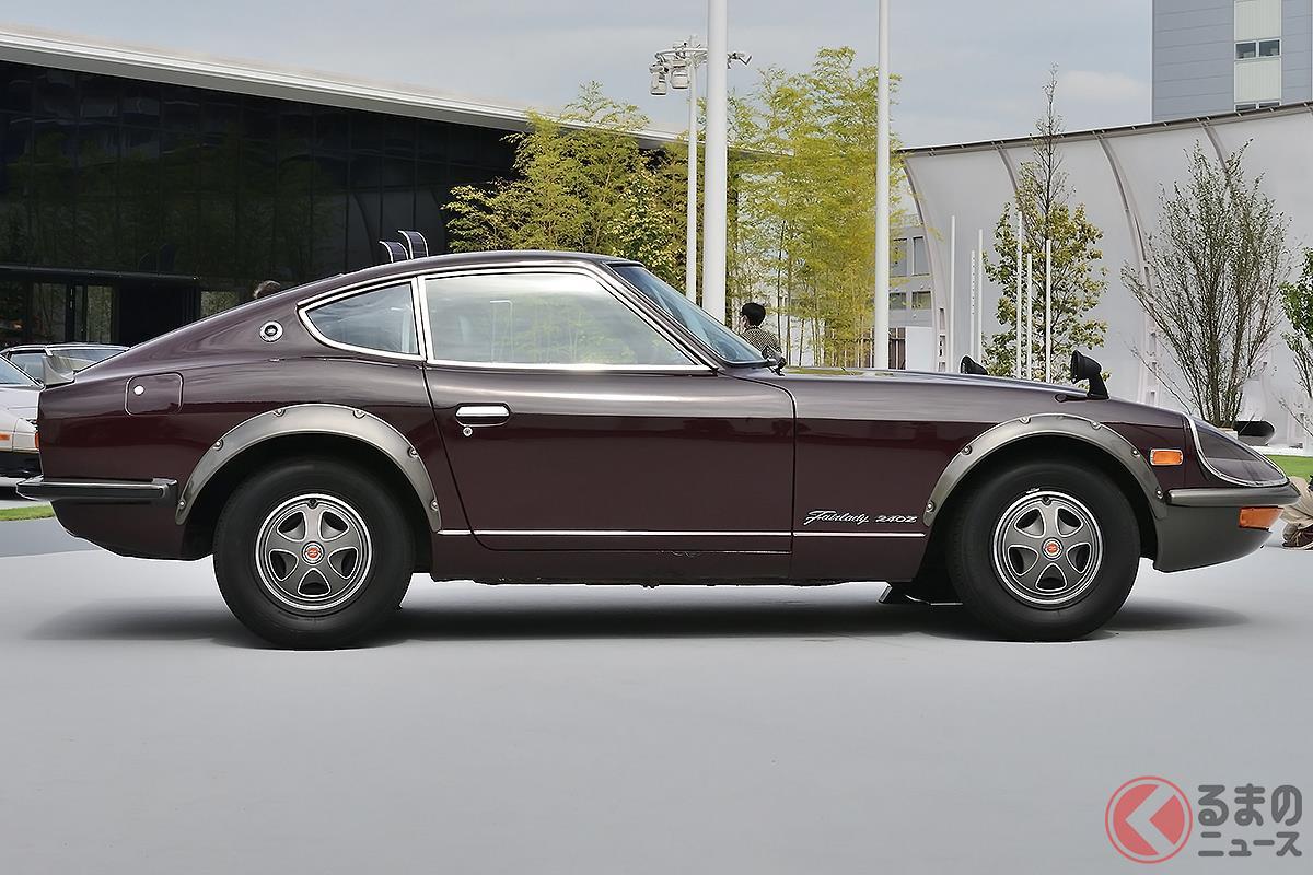 まさにFRスポーツカーとしての理想的なデザインの初代「フェアレディZ」