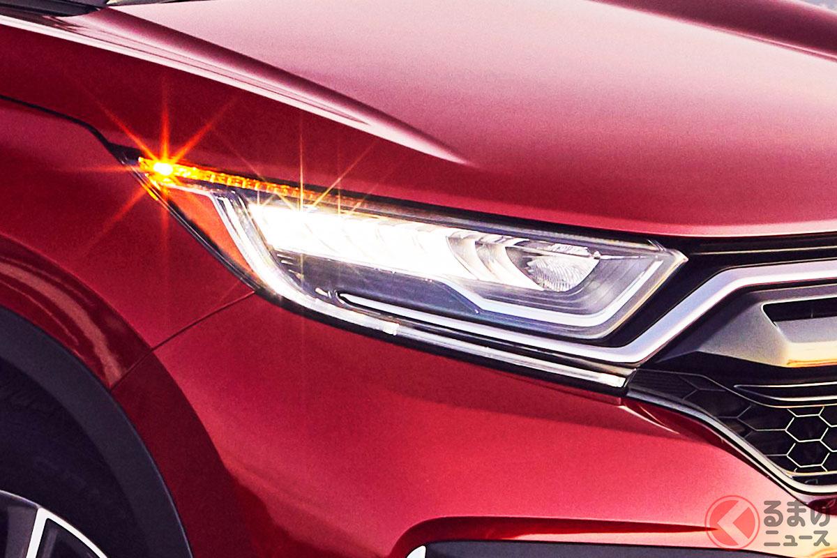 北米ホンダは新型プロローグの導入に向けてハイブリッド車の販売比率向上も狙う(写真は北米仕様の「CR-Vハイブリッド」)