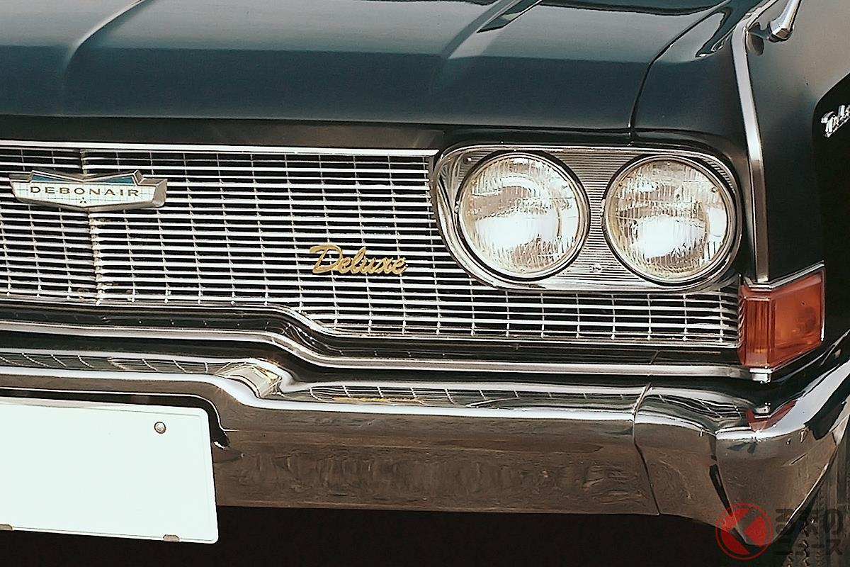 1960年代に誕生したアメリカ車をモチーフにしたような高級セダンたち