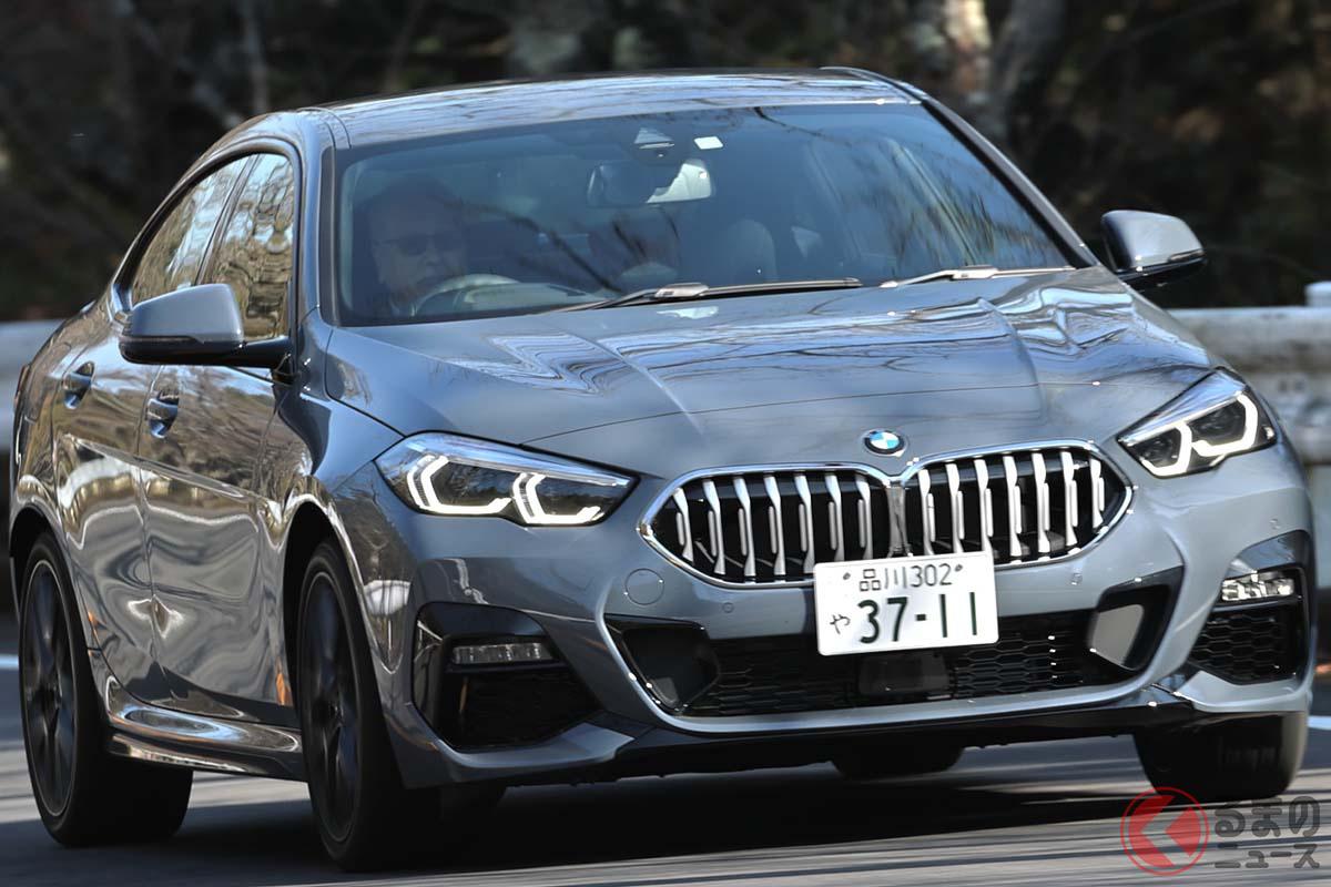 BMW「218iグランクーペ Mスポーツ」の走り