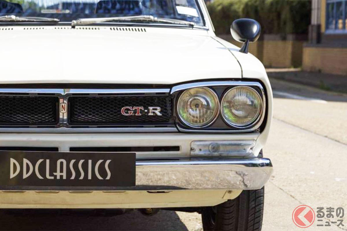 新車価格の約15倍という2000万円超えのプライスが付けられた日産「スカイラインGT-R」(photo:(c)DD Classics Ltd.)
