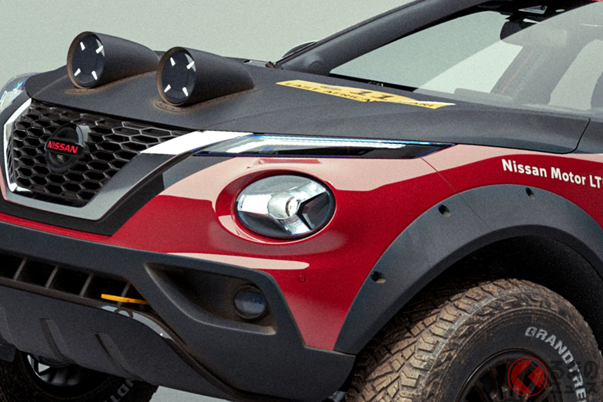 こりゃすげぇ! 240Zのサファリラリー勝利50周年を祝う「JUKE Rally Tribute Concept」