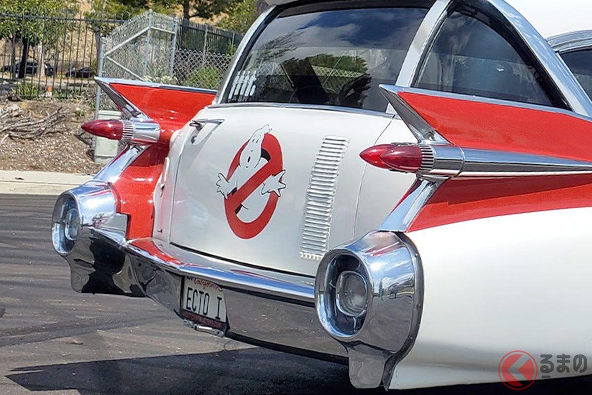 2400万円越え!オークションにかけられたゴーストバスターズの専用車両「エクトモービル」(photo:Barrett-Jackson Auction)
