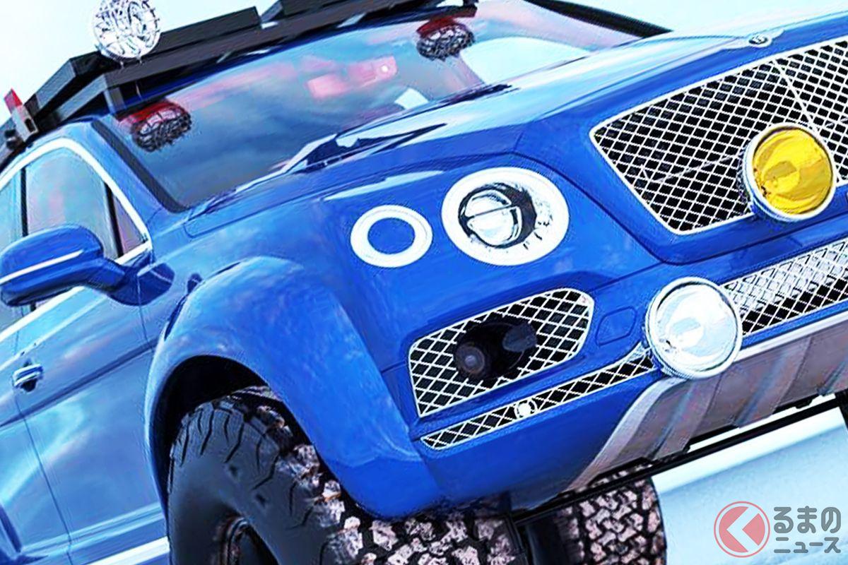 極太タイヤにオーバーフェンダー!ベントレーのSUV「ベンテイガ」の妄想カスタマイズ(photo:Abimelec Design)