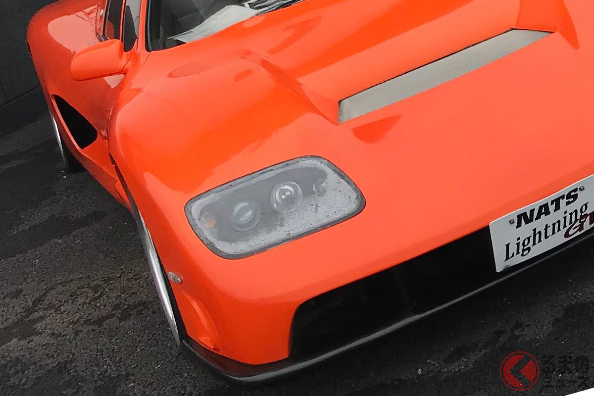 まさにスーパーカー! 完成された「ライトニング」(画像提供:NATS)