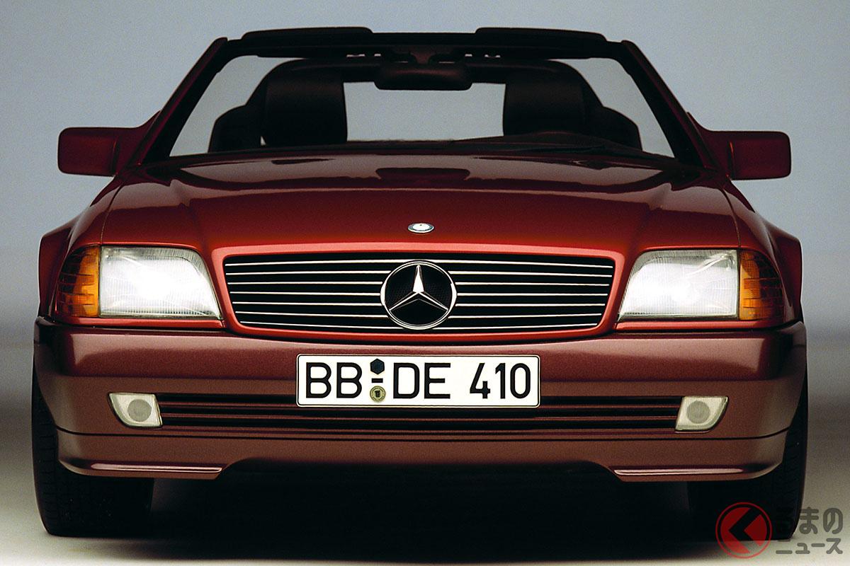 4代目となる「R129型」は、先代から約18年ぶりに登場した。3代目のR107型ではV8エンジンを初採用としたが、R129型ではV12エンジンもラインナップしていた。当時の新車価格は1380万円から(C)Daimler AG