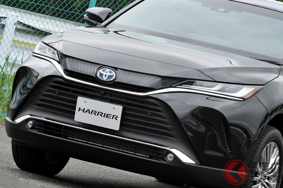 高級感が増したトヨタ新型「ハリアー」