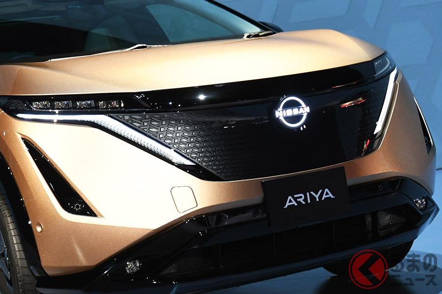 2020年7月15日に発表された日産新型「アリア」