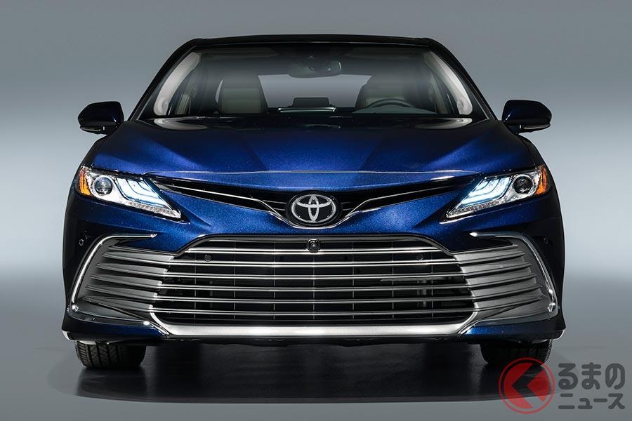 トヨタ「カムリ XLE」2021年モデル