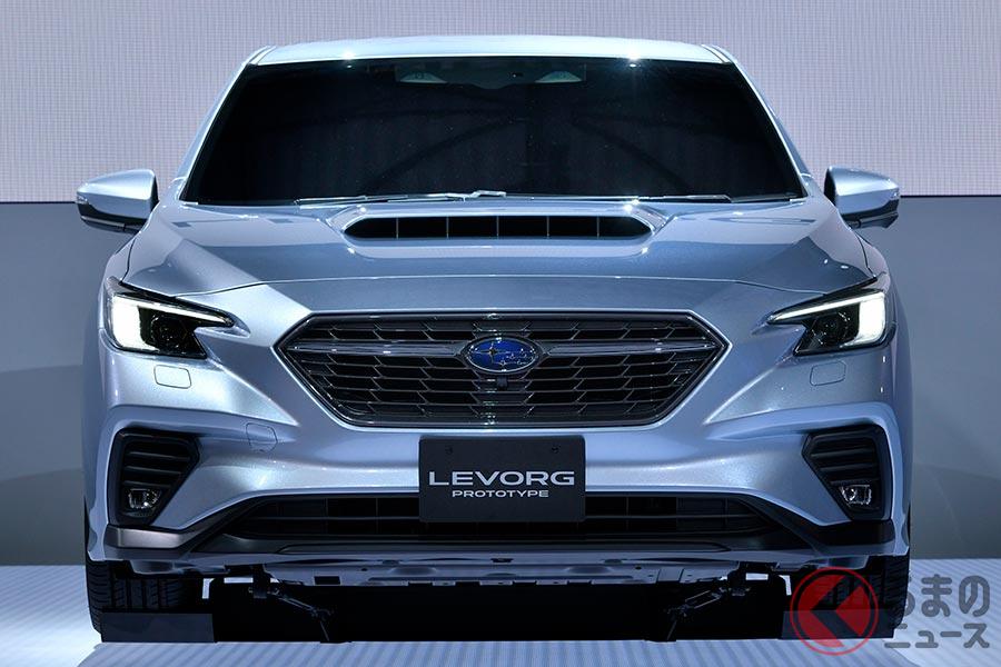 東京モーターショー2019で世界初公開されたスバル新型「レヴォーグ」
